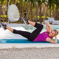 Try this muffin top melter workout that will sculpt your core and help you lose belly fat. Slim your upper-body and get a flat stomach with these simple exercises that you can easily do at home or at the gym. Start toning your abs and get rid of your muffin top with this amazing workout routine.