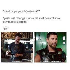 The Avengers vs The Revengers