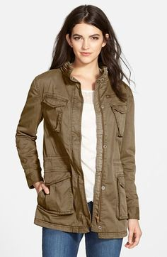 Treasure&Bond Twill Boyfriend Utility Jacket $168.00