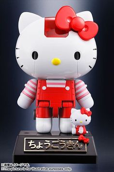 Chogokin Hello Kitty availabe at  tokyo otaku mode