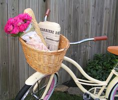 I just really love the bike and basket, okay?