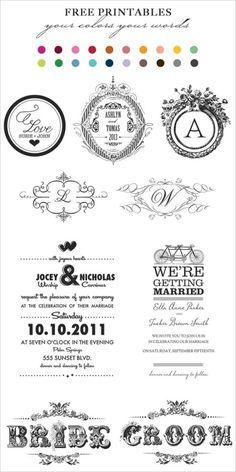 Top 10 Free Printables of 2011