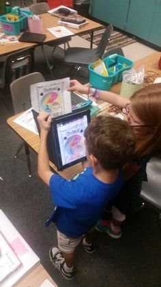 """Karen Redmon on Twitter: """"Celebrating Dot Day in 4th with the app Quiver…"""