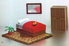 PDF Genuine Vintage 1970s CARDBOARD Dolls by TheAtticofKitsch Vintage Crafts, Vintage Dolls, 1970s Dolls, Polly Pocket Dolls, 4 Poster Beds, Patterned Furniture, Tile Covers, Victorian Dolls, Retro Home Decor