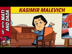 Art with Mati and Dada – Kasimir Malevich | Kids Animated Short Stories in English - YouTube