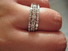 Cellentani''s ultra-thin baguette bands are HERE! : Show Me the Bling! (Rings,Earrings,Jewelry) • Diamond Jewelry Forum - Compare Diamond Prices, Discussions & Diamond Information