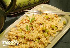 Mandulás indiai rízs Indian Food Recipes, Ethnic Recipes, Dinosaur Cake, Fried Rice, Side Dishes, Food Ideas, Indian Recipes, Nasi Goreng, Stir Fry Rice