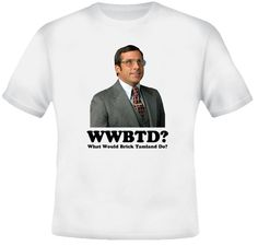 Brick Tamland What Would he Do Anchorman T Shirt