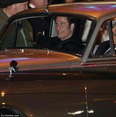 John Travolta showing up at Oscar's