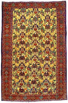 Guide to Persian Senneh Rugs & Carpets