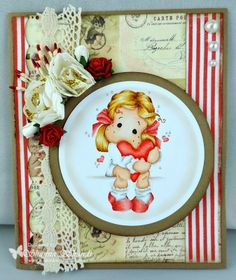 Loves Rubberstamps Blog: New Lovely Inspiration with Shanna Shands using Magnolia Stamps