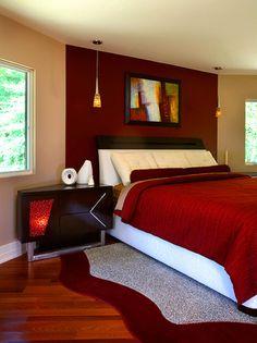 RED BEDROOM