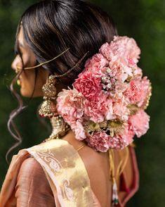 All Posts • Instagram Bridal Bun, Bridal Hairdo, Bridal Shoot, Indian Hairstyles, Bride Hairstyles, Cool Hairstyles, Engagement Hairstyles, Simple Wedding Hairstyles, Wedding Looks