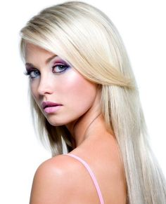 Just a shade down from platinum, very pale blonde is a gorgeous color that is excellent for women with cool undertones.