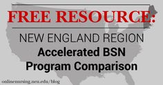 We've compiled an Accelerated BSN comparison to see how regional ABSN programs compare to one another in terms of NCLEX pass rates, cost, amount of credits, and more.