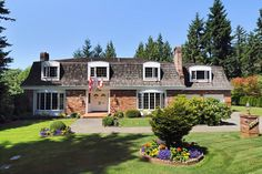 West Vancouver French Provincial Home