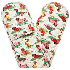 Sausage Dog Double Oven Glove