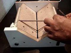 Montagem ou troca da Espiral em Máquinas de Corte de Garrafas de Vidro