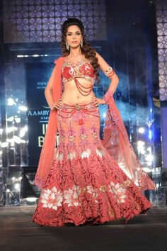 Mallika Sherawat as an Indian bride