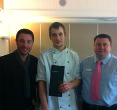 Celeb chef Gino at Wycombe Heights Gold Centre