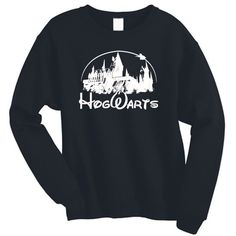Harry Potter Jumper Sweater Sweatshirt Hogwarts Tumblr Sweatshirt... ($22) ❤ liked on Polyvore featuring tops, hoodies, sweatshirts, loose fit tops, loose fitting tops and loose tops