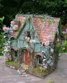 The Fantasy Forest: The Sage Fairy House ~ Julie McLaughlin thefantasyforest.blogspot.ca