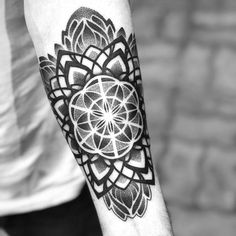 Mandala tattoo Marcelo Scaranari