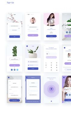 Velvet UI Kit UI Kits on - UI Kits - Ideas of UI Kits - Velvet UI Kit UI Kits on You are in the right place about App Design illustration Here we offer you the most beautiful pictures Web Design Mobile, Id Design, App Ui Design, Interface Design, User Interface, Ui Kit, Design Thinking, Profile App, Ios Ui