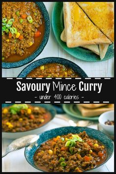 A favourite dish in our household is Savoury Mince Curry which is a super easy, healthy dinner under 400 calories. Packed with protein, colourful veges, it has Minced Beef Recipes, Minced Meat Recipe, Ground Beef Recipes, Curry Recipes, Meat Recipes, Indian Food Recipes, Cooking Recipes, Healthy Recipes, Indian Foods