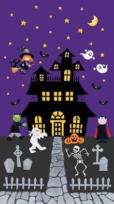 Telas halloween