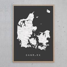 Danmark koks plakat | Martin Moore | Designfund