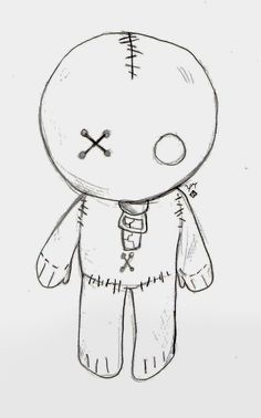 My brother and I were playing hangman and I got the idea to draw this little guy.