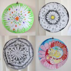 ornamenty z lučních květů