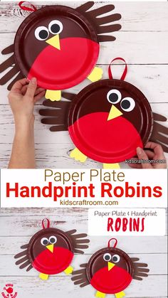 Heres an adorable PAPER PLATE ROBIN CRAFT thats perfect for your toddlers and preschoolers. These cute robins are reall Paper Plate Art, Paper Plate Crafts For Kids, Paper Crafts For Kids, Crafts For Kids To Make, Christmas Crafts For Kids, Toddler Crafts, Preschool Crafts, Christmas Paper Plates, Easy Halloween Crafts