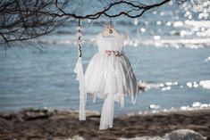 Φόρεμα βάπτισης Vinte Li 2820 με ασορτί κορδέλα., annassecret, Girls Dresses, Flower Girl Dresses, Tulle, Ballet Skirt, Wedding Dresses, Skirts, Fashion, Dresses Of Girls, Bride Dresses