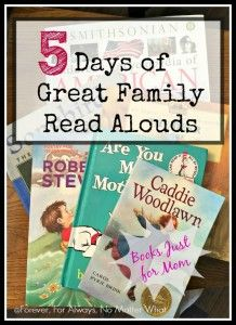 5 Days of Great Family Read Alouds