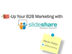 Beef-up Your Lean Content Marketing Efforts with #SlideShare