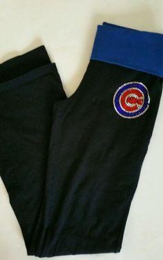 bdc02e5343ba5 Victoria Secret yoga pants size small Major League Baseball Chicago Cubs vs  Pink #VictoriaSecretPink