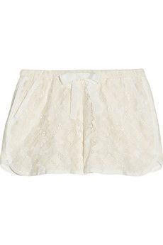 SEA Pizval cotton-lace shorts | NET-A-PORTER