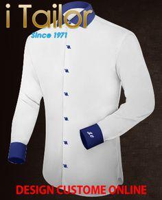Design Custom Shirt 3D $19.95 costume bleu Click http://itailor.fr/suit-product/costume-bleu_it48270-121.html