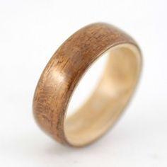 Teakwood men's ring!