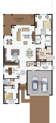 Floor plan single storey