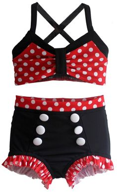 f4415955e0 JoJo Bikini in Minnie: 2019 Collection (Size 12/18 months - 12). Toddler  PageantEaster Outfit For GirlsBaby SwimwearSwimming ...