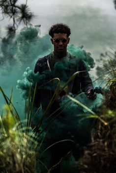 #smokebombs #forrest #photography