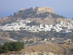 Lindos and the Acropolis, Rhodes.