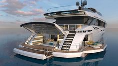 The Mangusta GranSport 44 Fast-Displacement Yacht | Boating & Yachting