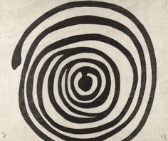 Untitled from Spirals  Louise Bourgeois (American, born France. 1911-2010)    2005. One from a suite of twelve woodcuts