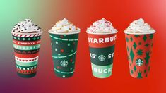 Starbucks Holidays 2020: Christmas Cups, Food Starbucks Corporate, Starbucks Drinks, Chestnut Praline Latte, Caramel Brulee Latte, Starbucks Locations, Cranberry Bliss Bars, Reusable Cup, Peppermint Mocha