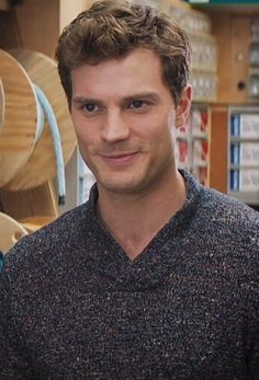 As Christian Grey in 'Fifty Shades of Grey'.