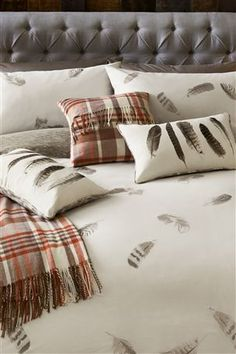 Buy Feather Print Bed Set from the Next UK online shop